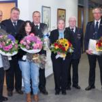187 Dienstjahre bei der Feuerwehr Nußloch und ein neuer Ehrenkommandant