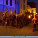 Absicherung St. Martinsumzug in Leimen-Mitte