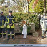 Feuerwehr Leimen auf dem Volkstrauertag in Ochsenbach und Gauangelloch