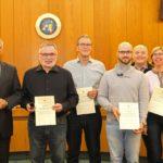 Sandhäuser Blutspender auf Gemeinderats-Sitzung offiziell geehrt