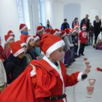 Auflösung des GSS Luftballon-Wettbewerbs im Weihnachtsdorf von St.Ilgen