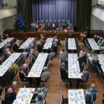 Trotz Schneesturm: Viele Senioren besuchten die Weihnachtsfeier der Stadt Leimen