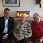 Gnadenhochzeit im Hause Brecht -Seit 70 Jahren verheiratet