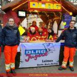 DLRG-Jugend auf dem Weihnachtsmarkt