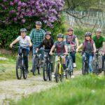 Fahrradfahren im Wald nur auf Fahrwegen breiter als 2 m erlaubt