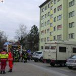 Auf heißem Herd vergessene Pfanne mit Fett verursacht Feuerwehreinsatz