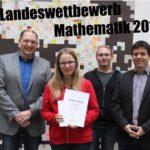 Katrin erfolgreich beim Landeswettbewerb Mathematik