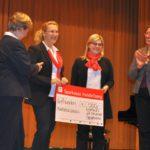 Sparkasse spendete 500€ an den Förderverein der Musikschule