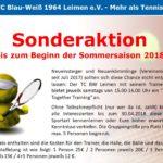Jahreshaupt-Versammlung des TC Blau-Weiß Leimen