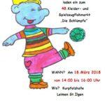 """Anmeldung zum 48. Flohmarkt """"Schlümpfe"""""""
