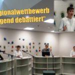 """Friedrich-Ebert-Gymnasium Sandhausen: </br>Erster Erfolg bei """"Jugend debattiert"""""""