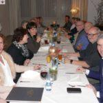 Heringsessen beim Leimener CDU Stadtverband - Mit dabei: MdB Dr. Harbarth