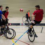 Zweitliga-Radball: Erster Punktgewinn für Leimener Duo Beste-Tric