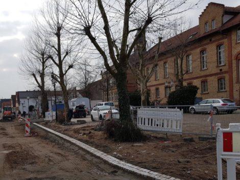Neue Platzgestaltung in St. Ilgen – Baumfällarbeiten erforderlich