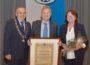 Verleihung des Nußlocher Ehrenbürgerrechts an Gemeinderat Gerhard Leypold