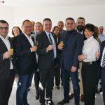 Leimen aktiv Jahresempfang im Neubau der W&M Steuerberatung gegenüber Rathaus
