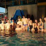 Sandhäuser DLRG erfolgreich bei den Bezirks-Meisterschaften in Waibstadt