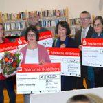 VNS und sHNS übergeben Spendenschecks an karitative Einrichtungen und Vereine