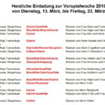 Vorspielwoche der Leimener Musikschule vom 13. - 23. März