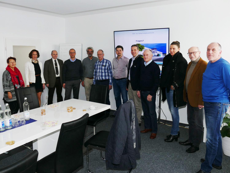 Ob Und Cdu Besuchten Hidden Champion Pharmamedia Dr Müller In St