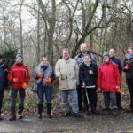 CITO: Vorbildlicher Einsatz von Geocachern im Gemeindewald Sandhausen