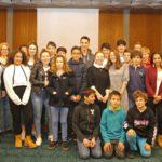 Französische Austauschschüler aus Lège-Cap Ferret zu Gast im Sandhäuser Rathaus