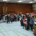Ruhiger Schlümpfe-Flohmarkt - Grippewelle hielt viele vom Besuch ab