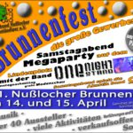 Am Wochenende: Brunnenfest in Nußloch