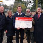 Tiergartenfreunde spenden weitere 20.000 Euro an den Zoo Heidelberg