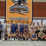 San Marinos U16 Basketball Nationalteam bei den Sandhäuser Wildbees