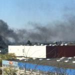 Rohrbach-Süd: Brand in Elektrogroßhandel - 150.000 € Schaden, keine Verletzten