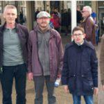 Fünf Spieler des Schachklubs Sandhausen bei den Grenke Chess Open