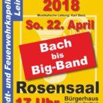 Sonntag, 22. April: Konzert der Stadt- und Feuerwehrkapelle Leimen