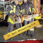 Samstag 21. April: Feuerwehr Nußloch Mitmachtag Ü18