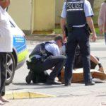 """Update zur Schlägerei in Leimen: </br>6 Personen involviert - """"Findling"""" als Waffe"""