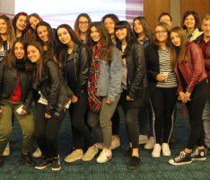 Sandhäuser Rathaus bescherte italienischen Schülern einen herzlichen Empfang