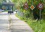 Jetzt wieder Tempo 30 auf Buckelpiste zwischen Leimen und St. Ilgen