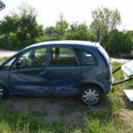 Nußloch: Crash im Einmündungsbereich beide Autos Totalschaden - zwei Verletzte