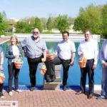 HEUTE um 9 Uhr: Freibaderöffnung bei Sonnenschein - Anlage top vorbereitet