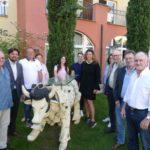 Kurzurlaub in der Leimener Toskana - CDU Gemeinderäte genossen die Führung