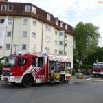 Rettungskräfte-Großeinsatz wg. Brand im Dr.-Ulla-Schirmer Haus - keine Verletzten