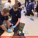Medizinische Rezertifizierungen bei der Feuerwehr-Abteilung in Leimen-Mitte