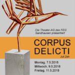 """Theater-AG des FEG Sandhausen spielt """"Corpus Delicti"""" von Juli Zeh"""
