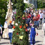 Gauangellocher Frühlingsfest: Am Ende wurde der Winter verbrannt