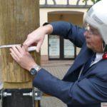 Maibaum-Vergleich: Sandhausen hat den Längsten - Leimen hat den Dicksten