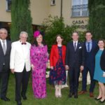Lions Club Leimen-Nußloch-Sandhausen feierte 25-jähriges Bestehen in der Villa Toskana