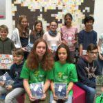 Mathe-Wettbewerb am Fr.-Ebert-Gymnasium: Zwei Mädchen mit Zwillings-Känguru-Erfolg