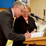 Landrat Stefan Dallinger erneut auf sein Amt vereidigt und verpflichtet
