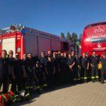 Brandsicherheits-Wachdienst beim Fußballspiel des SV Sandhausen