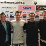 Denis Linsmayer verlängert beim SV Sandhausen um vier Jahre